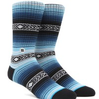 Stance Calexico Crew Socks - Mens Socks - Blue - One