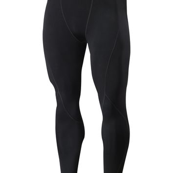 Men's Thermal SubZero Compression Fleece Baselayer Pants Legging Tights
