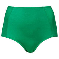 JEWEL GREEN HIGH WAISTED PANTS