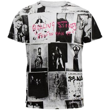 PEAPGQ9 Rolling Stones - Exile All-Over T-Shirt