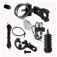 DCCKL72 archery upgrade combo bow sight kits arrow rest stabilizer Compound Bow Accessories for Compound Bow