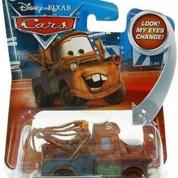Disney / Pixar CARS Movie 1:55 Die Cast Mater #20 w/ Lenticular Eyes!