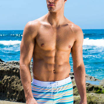 Sauvage Stripe Retro Lycra Swimmer