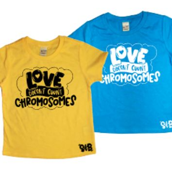 Love Doesn't Count Chromosomes KIDS TEE