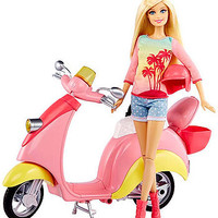 Barbie Glam Scooter with Barbie Doll
