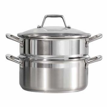 Tramontina 5-quart Stainless Steel Steamer Set