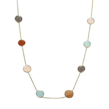 Pastel Pizzazz Multi-Gemstone Necklace