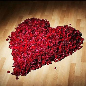 500pc Silk Rose decorative Flower Petals. Ideal for wedding table decorations or for other events and parties.