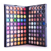 Full 120 Color Eyeshadow Palette Professional  Makeup Palette Eye Shadow Make up Shadows Cosmetics V1007A  as gift free shipping