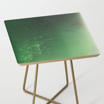 Field of Green Side Table by duckyb