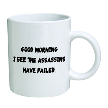 Would marry good morning asshole coffee mug