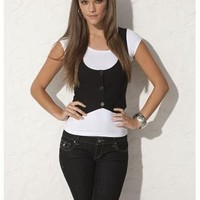 CROPPED VEST | Body Central