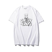 Hot Tunic 19SS KAWS HOLIDAY TOKYO Women Man Fashion Print Sport Shirt Top Tee