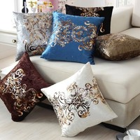 Velour Throw Pillow Cover