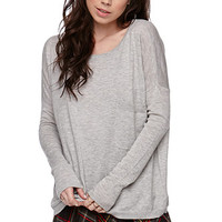 LA Hearts Slouchy Pocket Pullover Sweater at PacSun.com