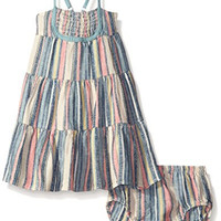 Roxy Baby Costa Rica Dress, Cameo Blue, 6-12 Months