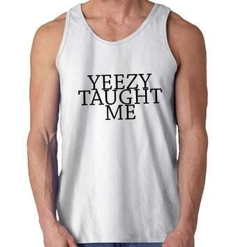 Yeezy Taught Me kanye For Mens Tank Top *