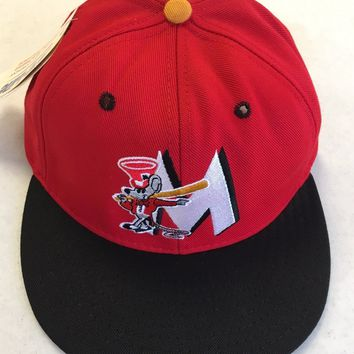 RETRO PROLINE ST. LOUIS CARDINALS MINOR LEAGUE MOUSE FLAT BRIM FITTED HAT
