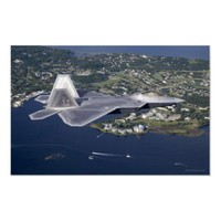 F-22 Raptor Print from Zazzle.com