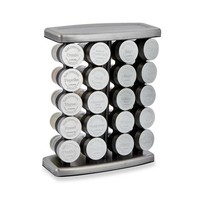 Olde Thompson 20 Jar Traditional Spice Rack