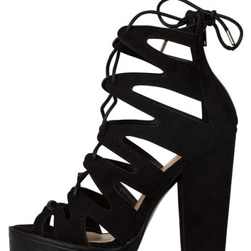 Vive Ziggy Platform Heel-FINAL SALE