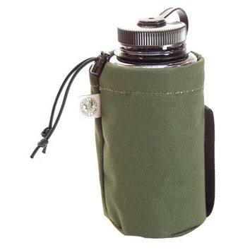 Canvas Water Bottle Pouch - Camp & Hike - Outdoors :: Duluth Pack :: Made in the USA :: Quality leather and canvas luggage, backpacks, camping, and outdoor gear,