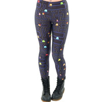 Women Space Print Pants Fitness Legging Muz-man PAC-MAN LEGGINGS Woman Leggings High Quality Digital Printing Fitness Leggins [8069657671]