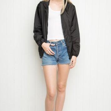 Scar Windbreaker Jacket - Brandy Melville