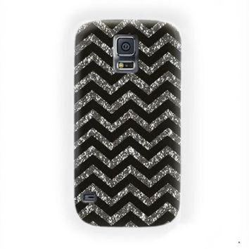 CREYUG7 Chevron Black Gold Jordan Air Cute For Samsung Galaxy S5 Case
