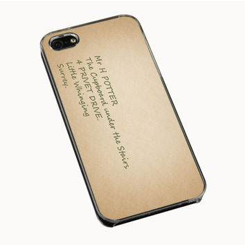 Harry Potter Address iPhone 4(S) 5(S) 5C Cases