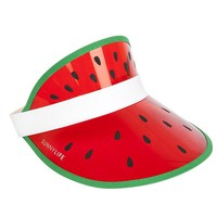 Retro Sun Visor - Watermelon