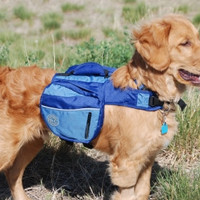 Henry & Clemmies Dog Backpack Medium Blue