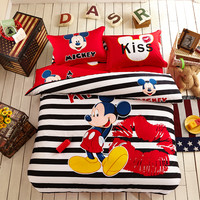 Mickey mouse comforter set twin and queen | EBeddingSets
