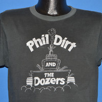80s Phil Dirt And The Dozers Distressed t-shirt Large