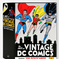The Art Of DC Comics Postcard - Pack Of 100 - Urban Outfitters