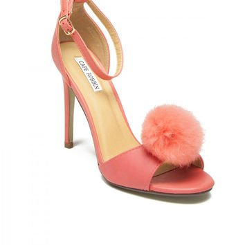 Princess Pom Puff Pump in Pink