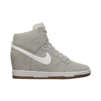 Nike Dunk Sky Hi Women's Shoes - Pale Grey