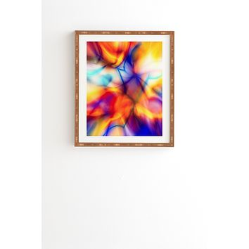 Viviana Gonzalez Textures Abstract 21 Framed Wall Art