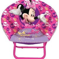 Pink Minnie Mouse Chair For Toddler Or Preschooler