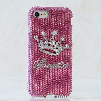 The Crown Personalized Name & Initials Design (style PN_1127)