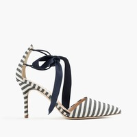 Elsie bow-tie pumps : Women Heels | J.Crew