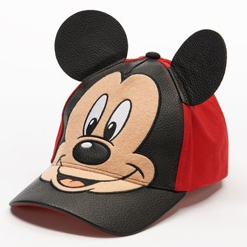 f48ccfecf4804 Disney s Mickey Mouse 3D Ears Baseball Cap - Toddler Boy