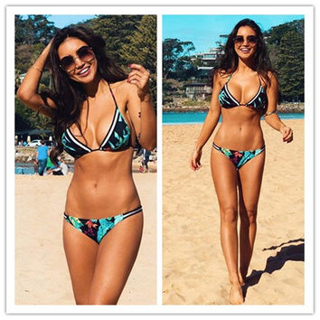 Swimsuit Summer Beach Hot New Arrival Sexy Leaf Swimwear Women's Fashion Bikini [4970315780]