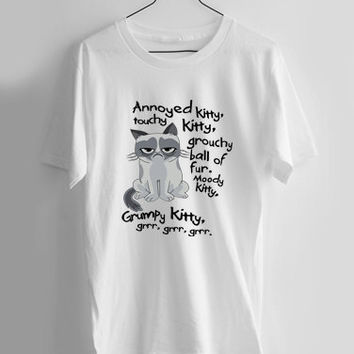 Grumpy Cat Parody T-shirt Men, Women and Youth