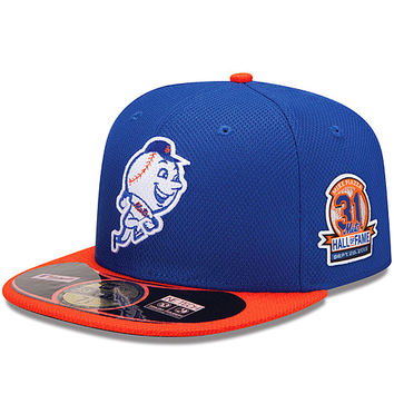 New York Mets Authentic Collection Diamond Era 59FIFTY Game Cap with Mike Piazza Mets Hall of Fame Patch - MLB.com Shop