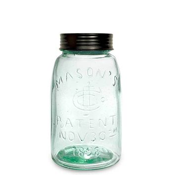 Midget Pint Mason Jar with Lid