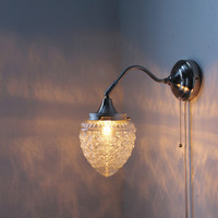 Special Order for Leah Shanks  2 acorn sconce lights by BootsNGus