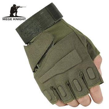 Tactical gloves half- finger gloves