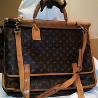 Louis Vuitton Sac Kleber Travel/Luggage Bag Preowned
