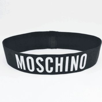 Moschino & Champion & Dior Trend Sports Fitness Men's and Women's Elastic Headband Headband